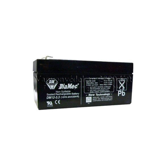 Diamec AD-12033 12V 3.3Ah akkumulátor
