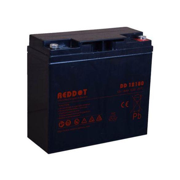 Reddot ARD-12180 12V 18Ah gondozásmentes akkumulátor