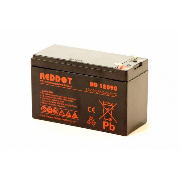Reddot ARD-12090 12V 9Ah gondozásmentes akkumulátor