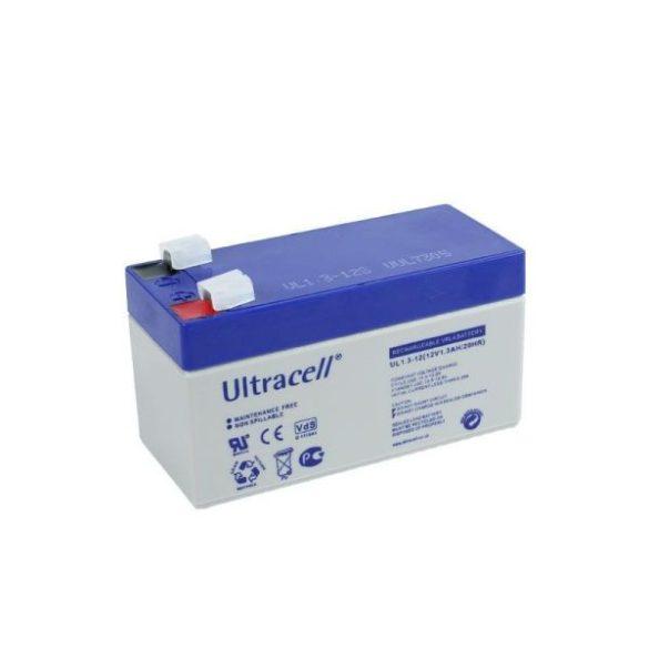 Ultracell AU-12013 12V 1.3Ah gondozásmentes akkumulátor