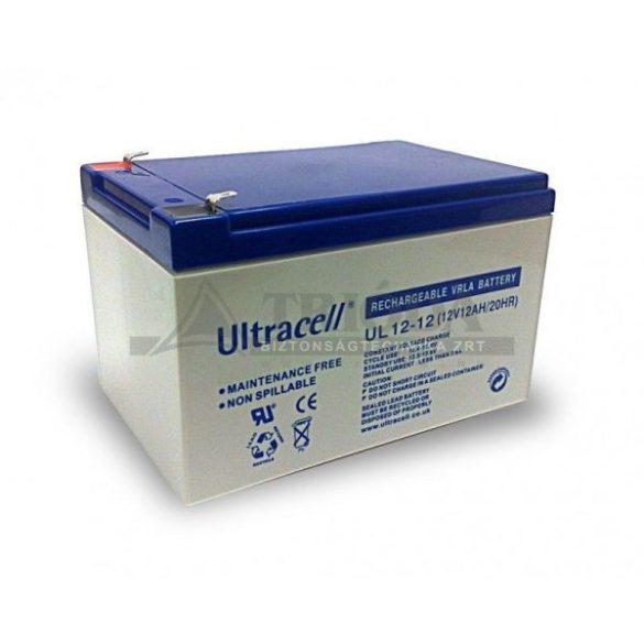AU-12120 12V12,0Ah gondozásmentes akkumulátor biztonságtechnikai rendszerekhez