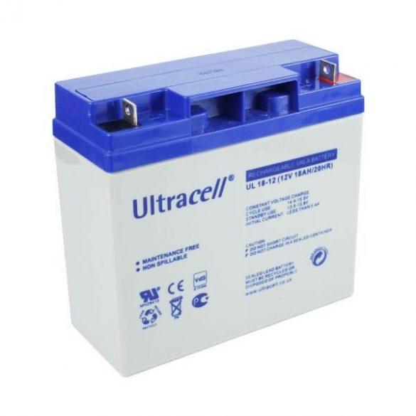 Ultracell AU-12180 12V 18Ah gondozásmentes akkumulátor
