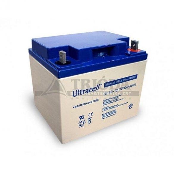 Ultracell AU-12400 12V 40Ah gondozásmentes akkumulátor