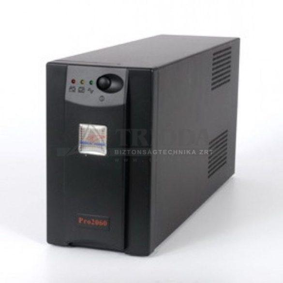 PANNONPOWER PRO2050 UPS szünetmentes tápegység 500VA/300W+1db 7Ah aku kom.nélk.