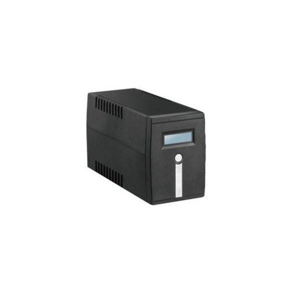 PANNONPOWER M1000 UPS szünetmentes tápegység 1000VA/600W+2db 7Ah akkumulátor