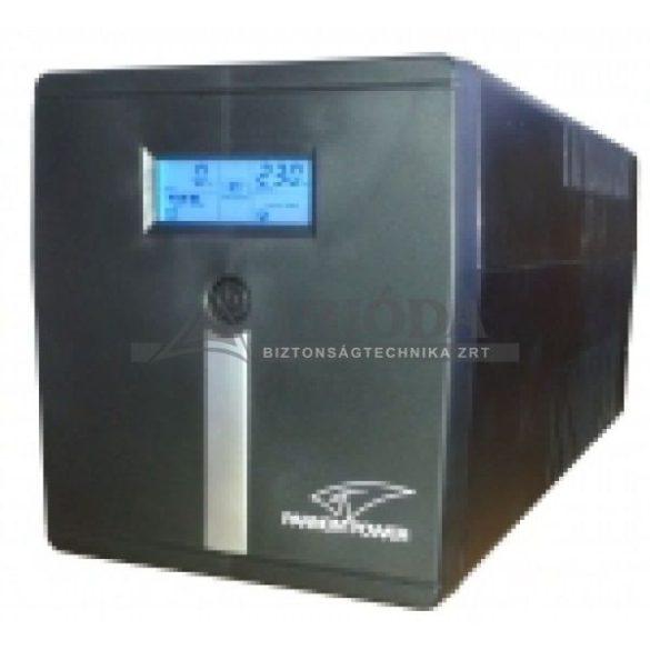 PANNONPOWER M2000 UPS szünetmentes tápegység 2000VA/1200W