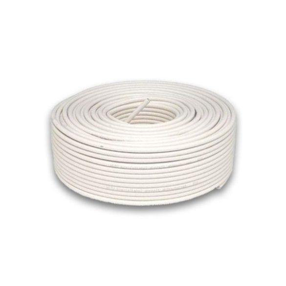 Riasztókábel VEZ  8AF50 2*0,5+6*0,22 hajlékony, árnyékolt (100m tekercsben)