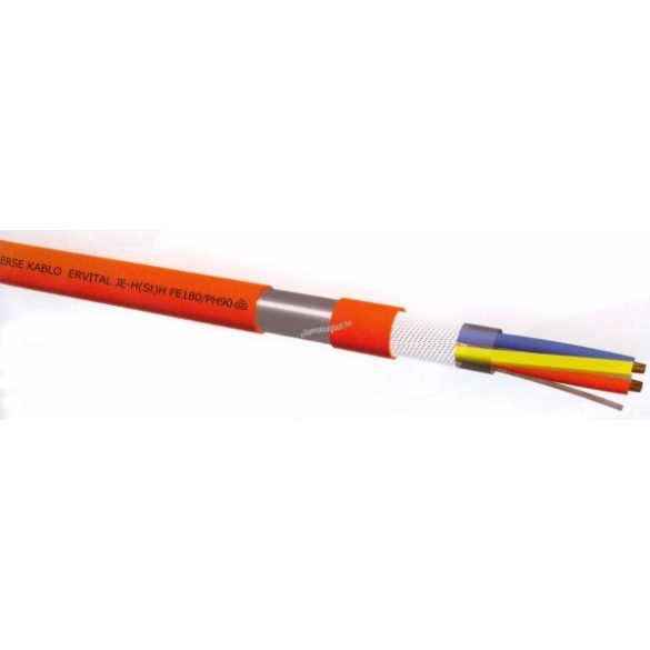VEZ SR114H 2x1,50 tűzálló kábel (kifutott termék, nincs érvényes hatósági engedélye)
