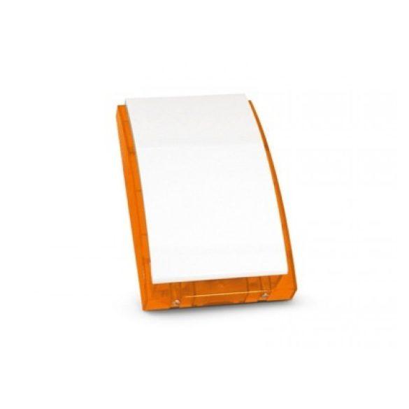 SATEL SPW220 O Beltéri hang- és fényjelző, narancs színű villogóval
