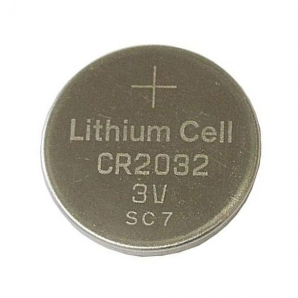 CR2032 3V lithium gombelem