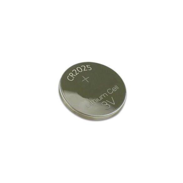 CR2025 3V lithium gombelem