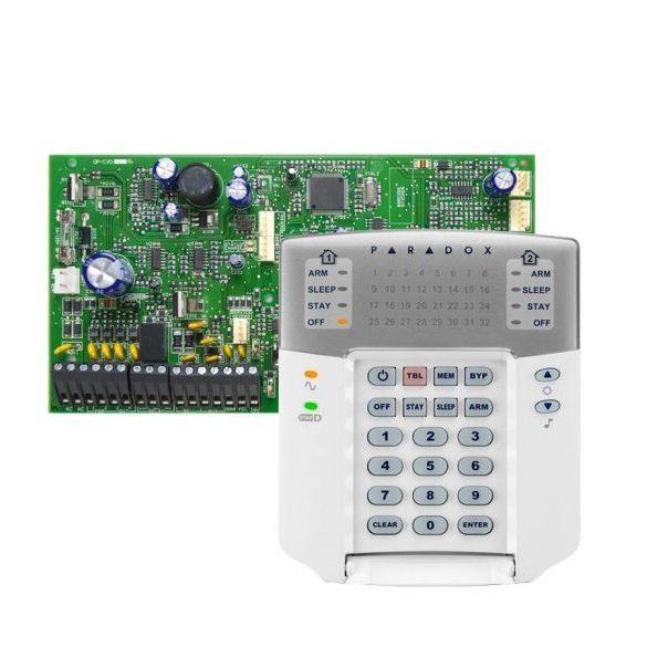 PARADOX-SP7000/K32LED+ új LED kezelő szett