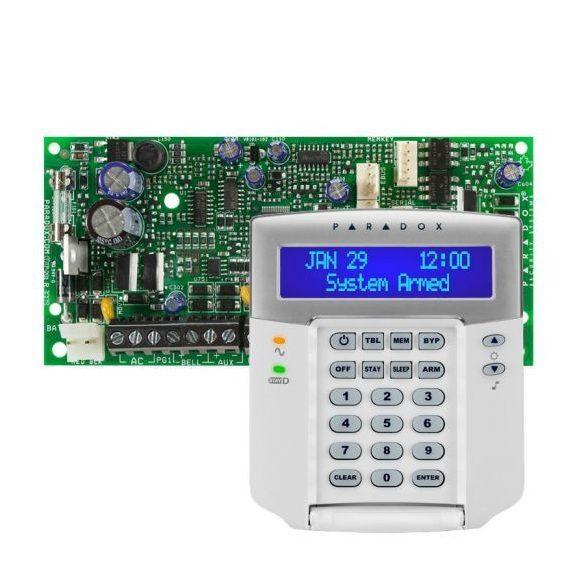 PARADOX-SP4000/K32LCD+ új LCD kezelő szett