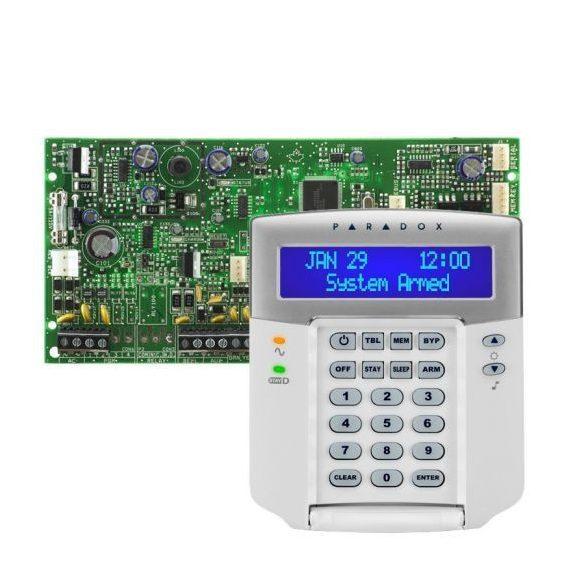 PARADOX-SP5500/K32LCD+ új LCD kezelő szett