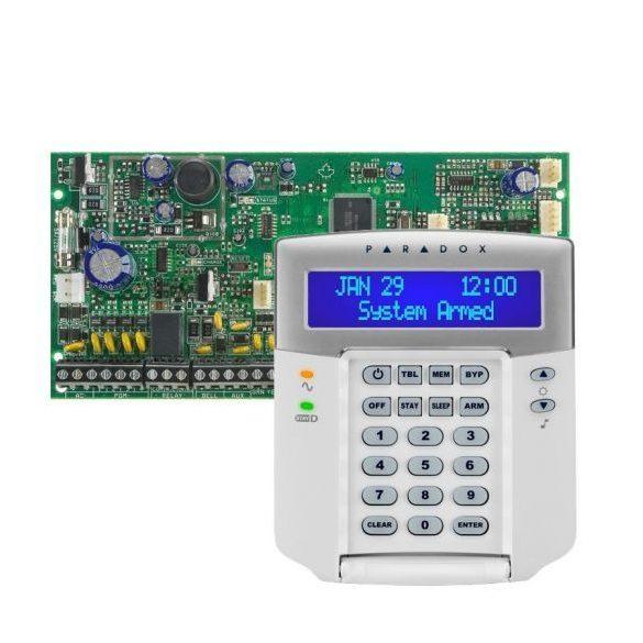 PARADOX-SP6000/K32LCD+ új LCD kezelő szett