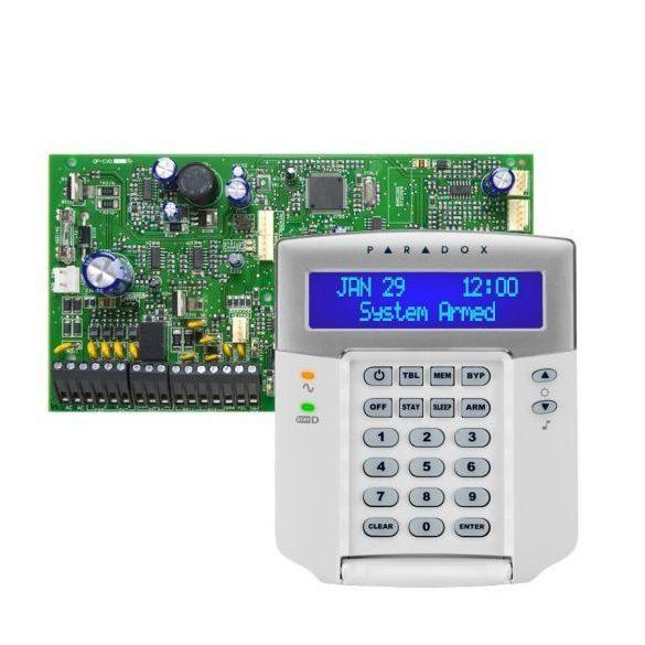 PARADOX-SP7000/K32LCD+ új LCD kezelő szett