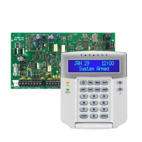PARADOX-MG5050/K32LCD+ új LCD kezelő szett