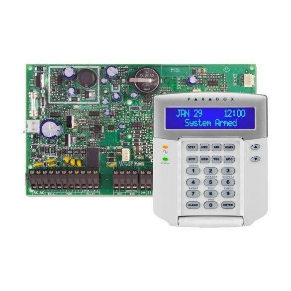 PARADOX-EVO192/K641+ új LCD kezelő szett