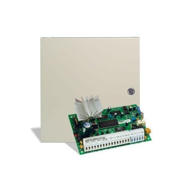 DSC-PC585 5+3 zónás központ, 1555RK kezelővel, dobozzal, 1 partíció