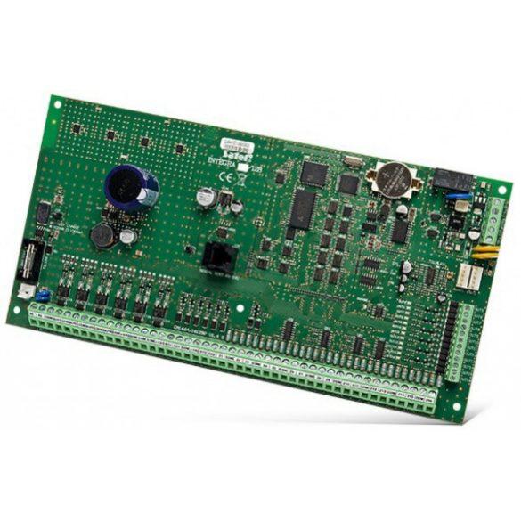 Satel INTEGRA 128 16-128 zónás riasztóközpont-alaplap; 32 partíció; 16-128 kimenet; telefonkommunikátor; 3 A tápegység