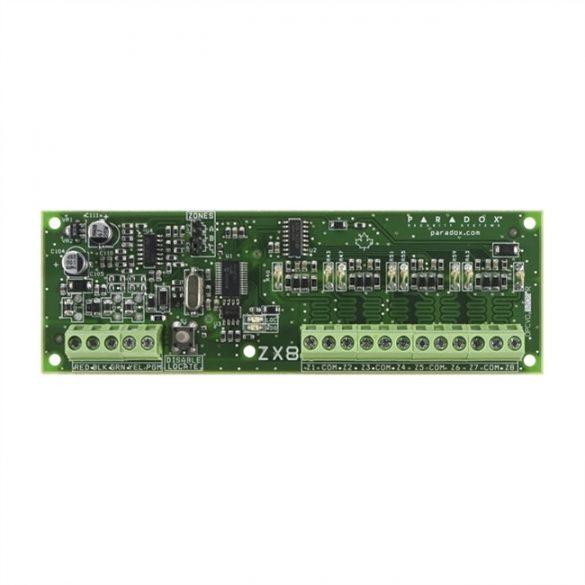 PARADOX-ZX8  8 zónás bővítő modul