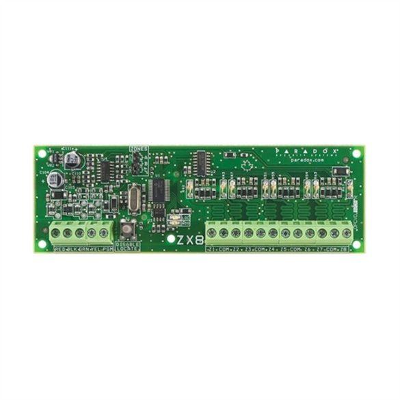 PARADOX-ZX8SP 8 zónás bővítő modul