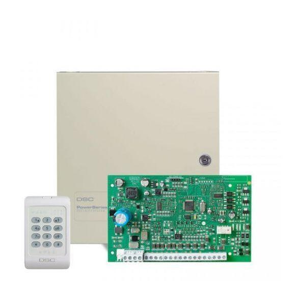 DSC-PC1616 központ+PK5516 billentyűzet+doboz+tamper