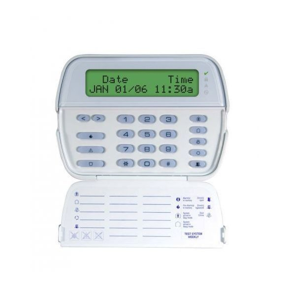 DSC-PK5500 LCD szöveges billentyűzet