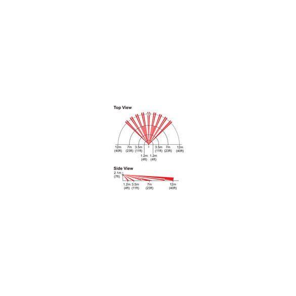 PARADOX-DG55 Kételemű digitális beltéri mozgásérzékelő