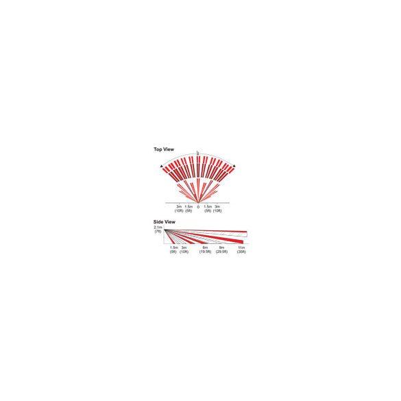 PARADOX-DG75 Digitális két-optikás beltéri PIR mozgásérzékelő, kisállat tűrés
