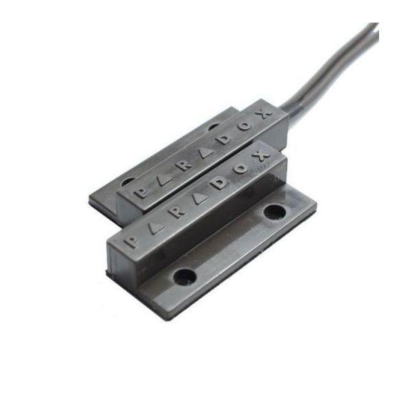 PARADOX-MC21SB nyitásérzékelő, felületre ragasztható, oldalsó kábelkivezetés, barna