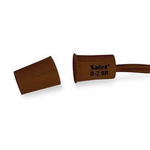 SATEL B2 BR mini befúrható nyitásérzékelő, barna