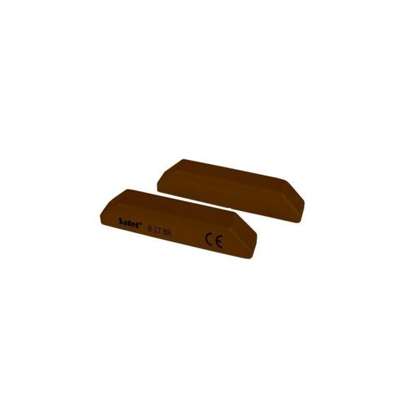 SATEL B1T BR Felületre szerelhető mágneses nyitásérzékelő, csavarkötéses, barna