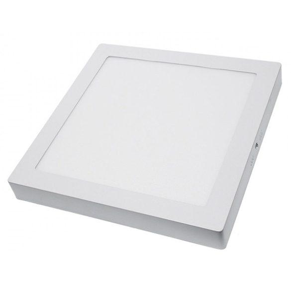 LED panel, 24W, falra szerelhető, négyzet alakú, 1680lumen, meleg fehér, 2258
