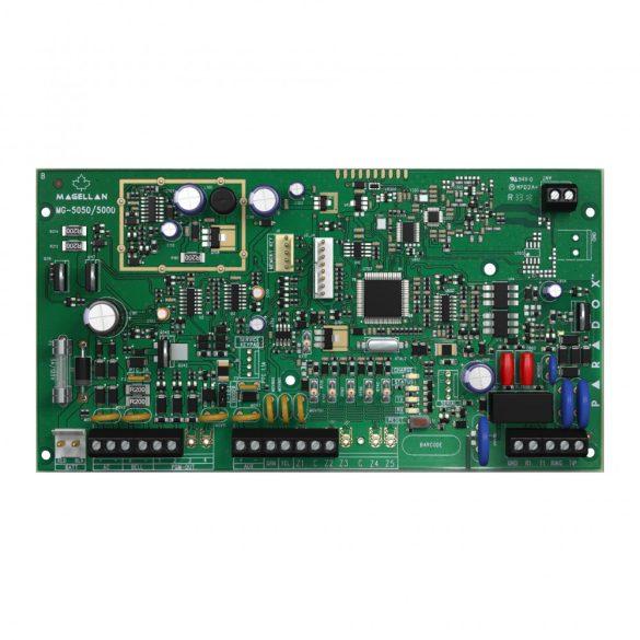 PARADOX-MG5000 32 zónás 2 partíciós 2 vezetékes zóna (ATZ4) rádiós központ panel