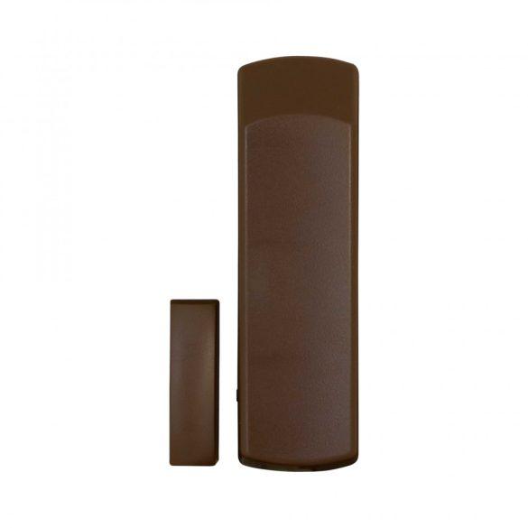 PARADOX-DCTXP2 barna színű, felületre szerelhető, 2 zónás rádiós nyitásérzékelő 868