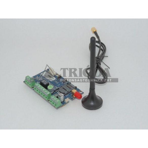 GMAX GSM kommunikátor hanggal 4 bemenet 1 kimenet