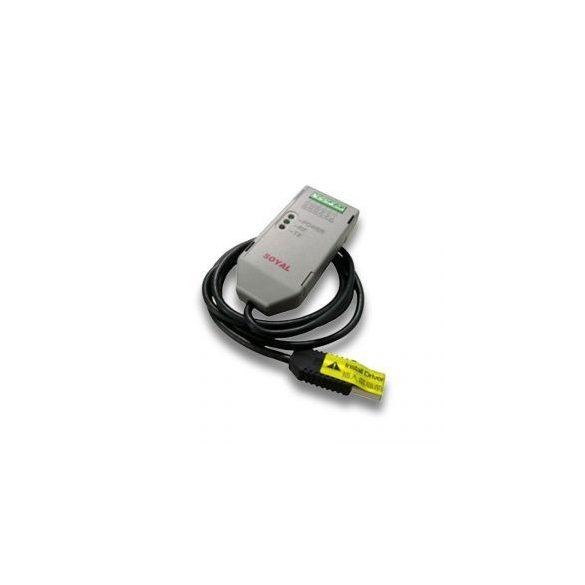 SOYAL AR-321CM optocsatolt USB - RS-485 átalakító 32 egység működtetéséhez