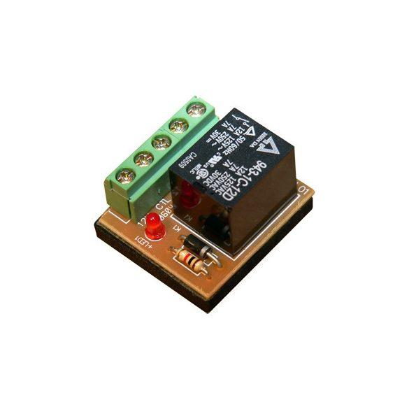 SOYAL AR-821RB Nagyáramú relé kimeneteti modul 12VDC vezérlés. 10A NO/NC kimenet
