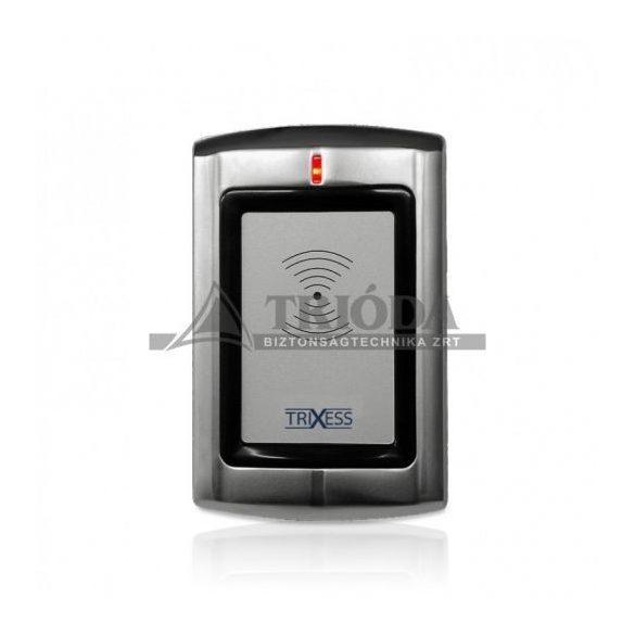 TXS-R3EM Trixess EM kártya olvasó, Wiegand 26 kimenet, vízálló, (fém burkolat)