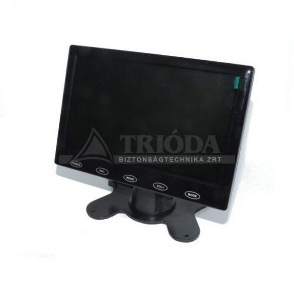 """AXMCTT-0910 9""""monitor,RCA-VGA-HDMI csatl, tápegys, hangsz,távirányítóval, 1080P"""