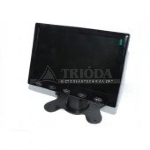 """AXMCTT-0710 7""""monitor,RCA-VGA csatl, tápegys, hangsz,távirányítóval, 1080P"""