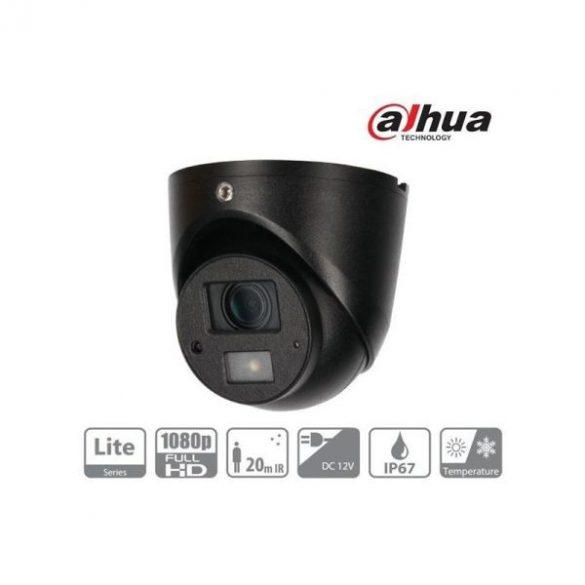 DAHUA HAC-HDW1220G Turret kamera,kültéri,1080P,3,6mm,IR20,ICR,IP67,DWDR,Audio