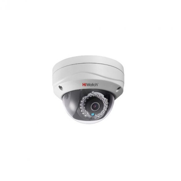 HIWATCH DS-I221(2.8mm) 2MP felbontású,fix lencsés,IP dome,IP66,H.264/MJPEG,IR30m