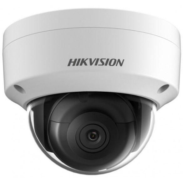 Hikvision DS-2CD2143G0-IS (4mm) 4 MP WDR fix EXIR IP dómkamera; hang be- és kimenet