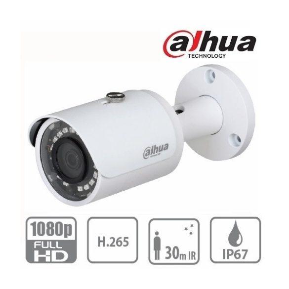 DAHUA IPC-HFW1230S 2.8mm csőkamera,2MP,IR táv:30m,IP6