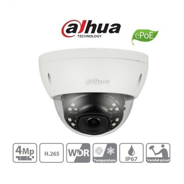 DAHUA IPC-HDBW4431E-AS 4MP fix IP dome kamera