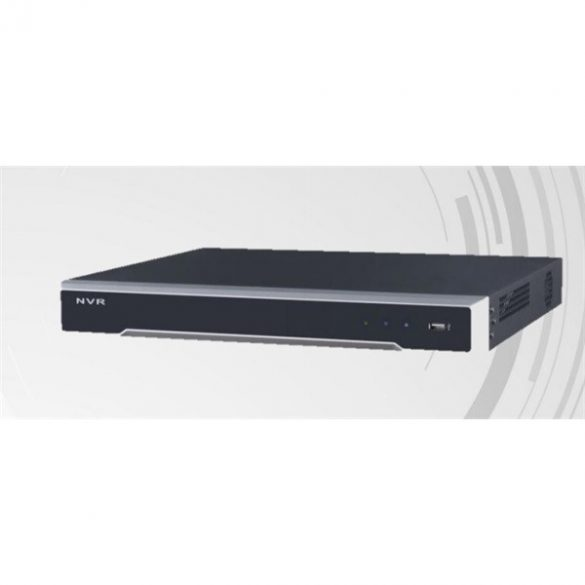 Hikvision DS-7616NI-I2 16 csatornás NVR; 160/256 Mbps be-/kimeneti sávszélesség; riasztás be-/kimenet