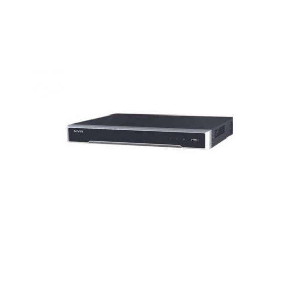 Hikvision DS-7632NI-I2 32 cs.NVR,256Mbps rögzítés,H.265,HDMI+VGA,2xUSB,I/O,2xSATA
