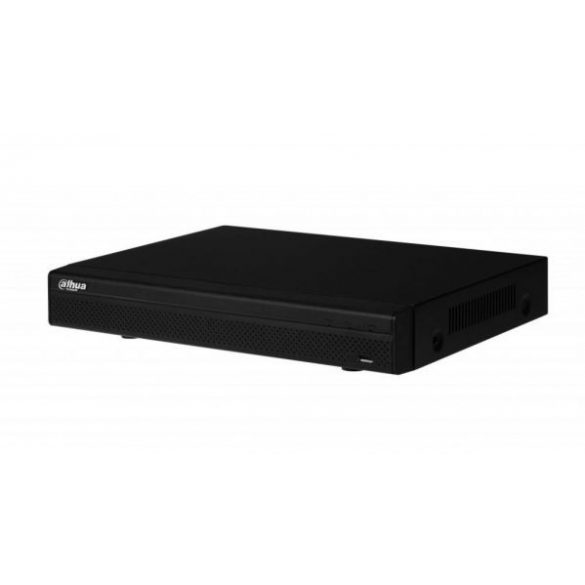DAHUA NVR4108H-8P 8 csatornás POE NVR, 80Mbps bejövő sávszélesség, 1x4TB HDD